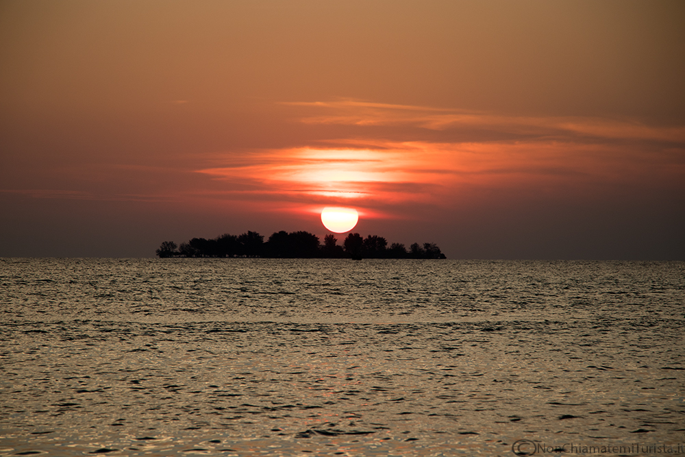 sunset beach Karimunjawa